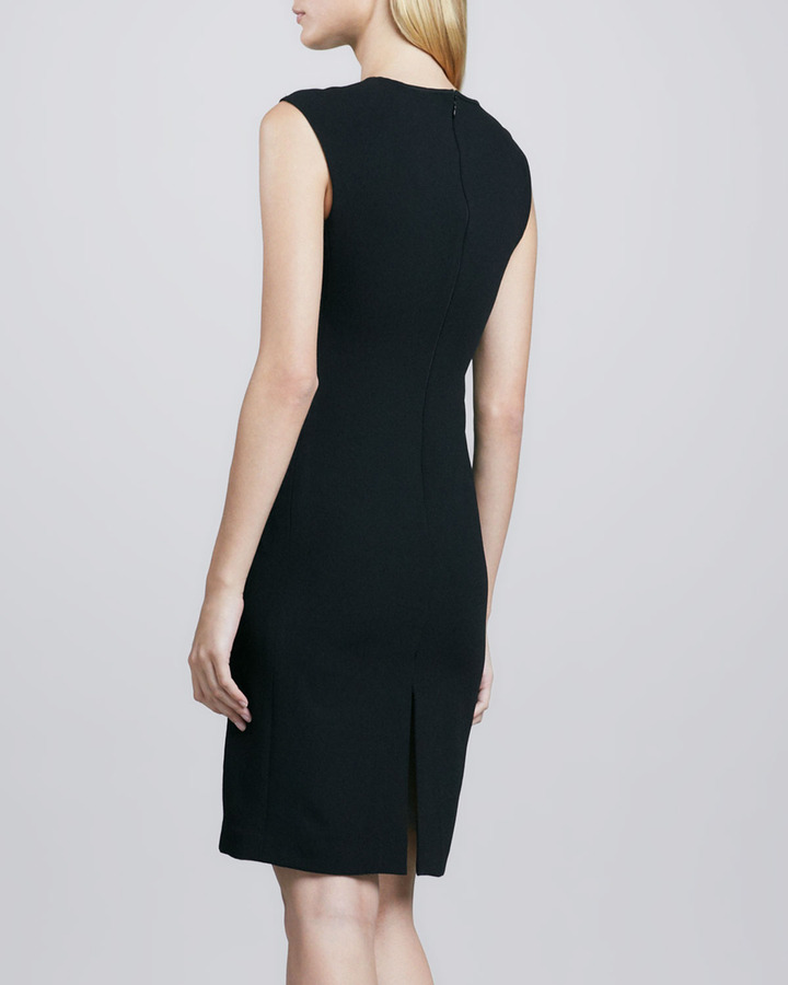 Trina Turk Veda Lace-Front Dress