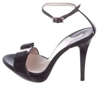 Salvatore Ferragamo Vara Bow Leather Sandals