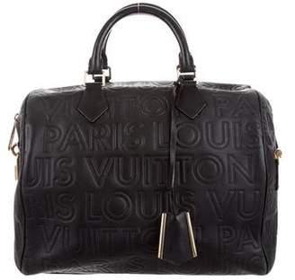 Louis Vuitton Speedy Cube Bag