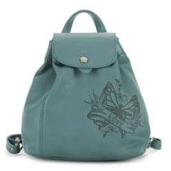 Longchamp Tattoo Leather Backpack