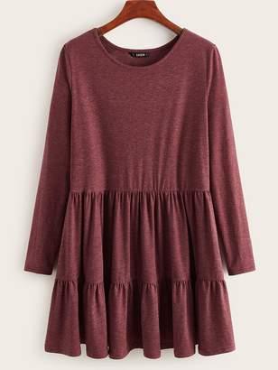 Shein Heather Knit Smock Dress