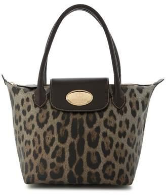 b7adf95f07e1 Roberto Cavalli Stacy Leopard Tote Bag