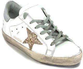 Golden Goose Superstar G62 - Gold Glitter Star Sneaker