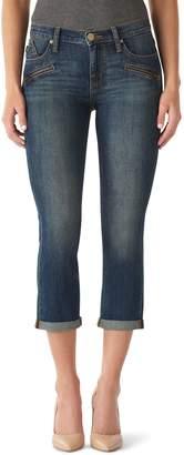 Rock & Republic Women's Kendall Cuffed Capri Jeans