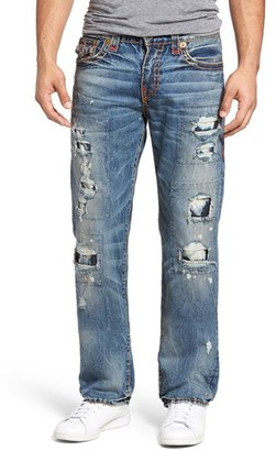 Men's True Religion Brand Jeans Ricky Relaxed Fit Jeans $389 thestylecure.com