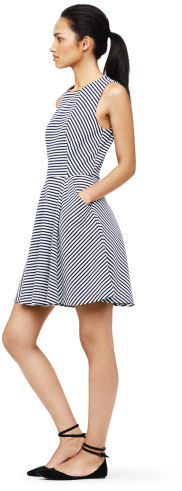 Club Monaco Emily Striped Knit Dress