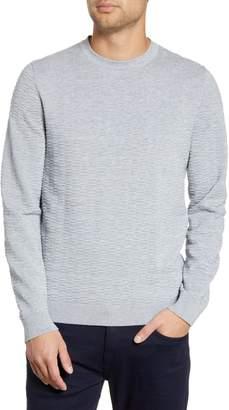 HUGO Sigson Regular Fit Textured Sweater