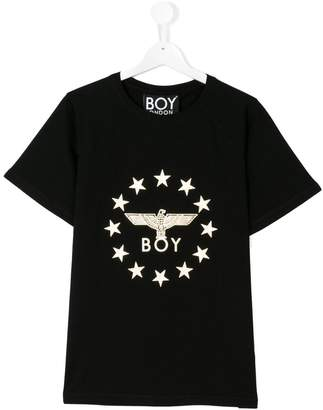 Boy London Kids central logo T-shirt