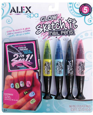 Alex Glow Sketch It Nail Pens Kit