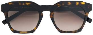 MCM tortoiseshell oversized sunglasses