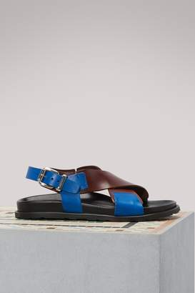 Sofie D'hoore Vegetable leather sandals