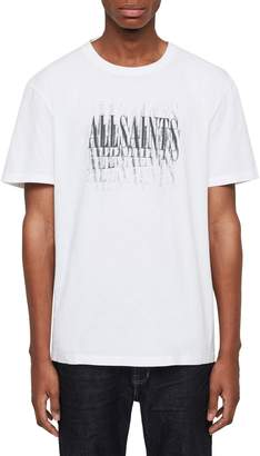 21900e38 AllSaints Imprint Slim Fit Graphic T-Shirt