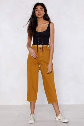 Nasty Gal My Wide or Die Culotte Jeans