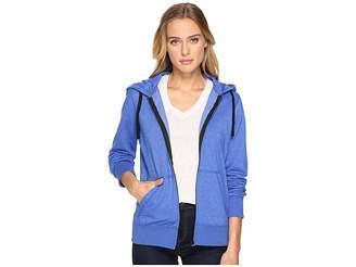 Hurley Solid Icon Zip Fleece Women's Sweatshirt