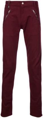 Alexander McQueen zipped pockets jeans