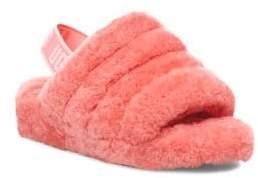 UGG Fluff Yeah Sheepskin Slingback Slippers