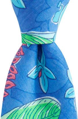 Vineyard Vines Kennedy Cay Floral Skinny Tie