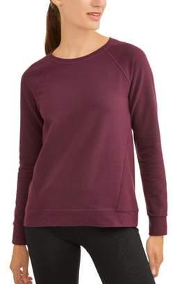 Athletic Works Women's Essential Crewneck Sweatshirt