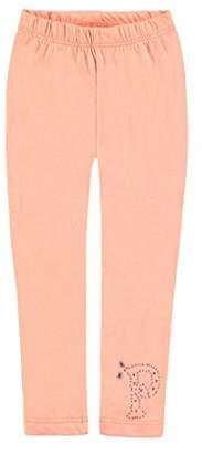 Pampolina Girl's Leggings Leggings - orange