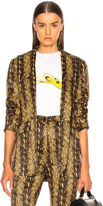 ALEXACHUNG Slim Tailored Jacket