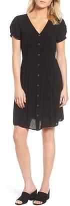 Velvet by Graham & Spencer Swiss Dot Shirtdress