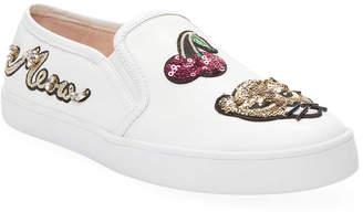 Kate Spade Lizbeth Leather Patch Slip-On Sneaker