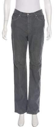Valentino Jeans Mid-Rise Straight-Leg Jeans