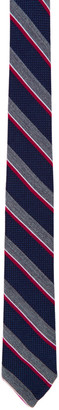 Thom Browne Multicolor Wool & Silk Classic Tie $190 thestylecure.com