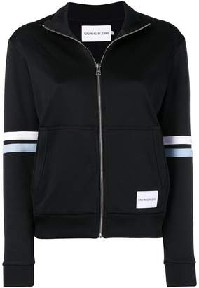Calvin Klein Jeans cropped track jacket