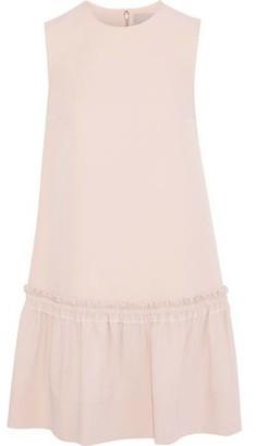 Roksanda Gathered Silk-blend Crepe Mini Dress