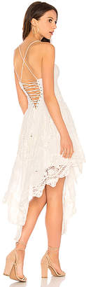 Free People Love To Love You Cutwork Dress