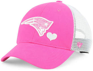 '47 Girls' New England Patriots Sugar Sweet Mesh Adjustable Cap
