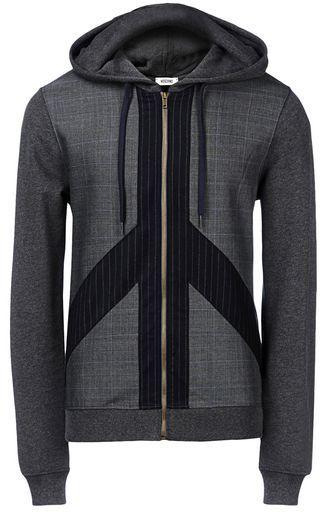 OFFICIAL STORE MOSCHINO Zip sweatshirt