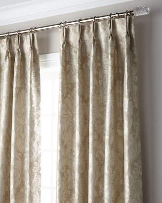 "Thomas Laboratories Misti Modern Luxuries Bellamy 3-Fold Pinch Pleat Blackout Curtain Panel, 120"""