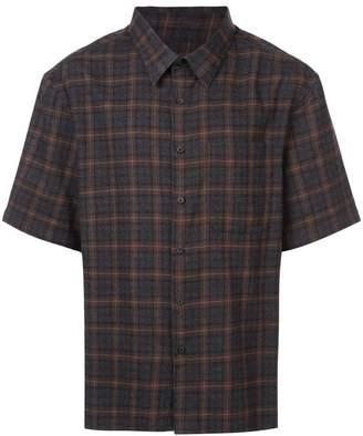 Lanvin shortsleeved checked shirt