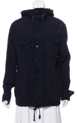 AllSaints Hooded Light Jacket