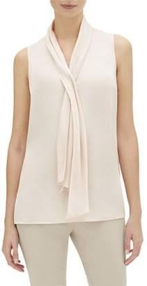 Lafayette 148 New York Tinley Sleeveless Carlisle Cloth Blouse