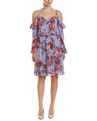 Adrianna Papell Women's FIT and Flare Spaghetti Straps Dress