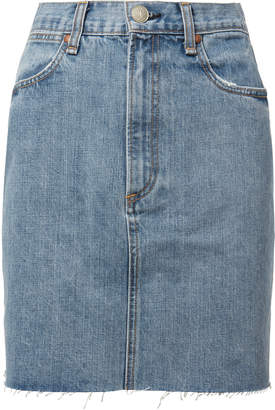 Rag & Bone Moss Mini Skirt