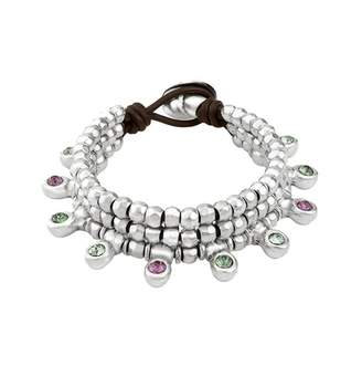 Uno de 50 Crystal Jungle Collections Bracelet PUL1688MCLMTL0M