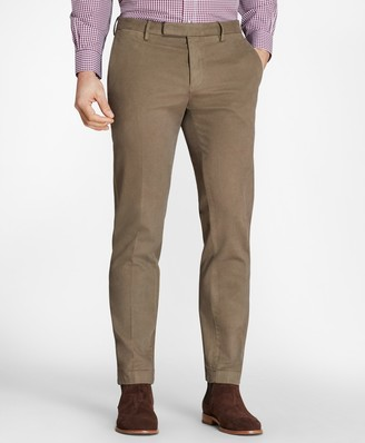 Brooks Brothers Garment-Dyed Stretch Broken Twill Chinos
