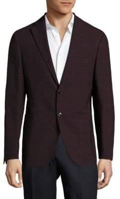 Pal Zileri Berry Wool & Linen Check Sportcoat