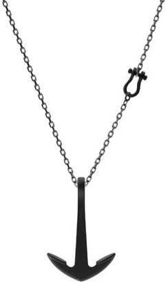 Miansai Anchor Necklace in Black