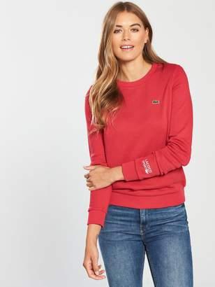 Lacoste Crew Neck Sweatshirt - Red