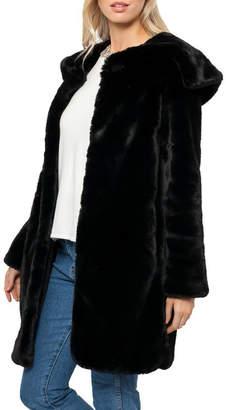Love Token Turner Faux Fur Coat