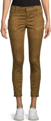 Joie Animal Print Skinny Pants