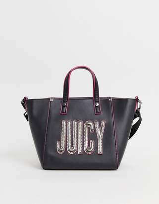 Juicy Couture logo tote bag