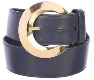 Givenchy Leather Buckle Belt