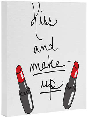 Deny Designs Kiss & Make Up By Leeana Benson