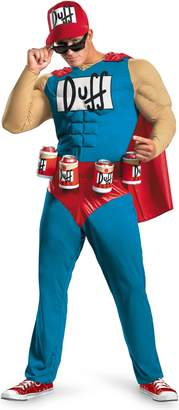 Disguise Simpsons Duffman Classic Muscle Adult 42-46